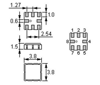 声表面谐振器-3030-r315m-滤波器
