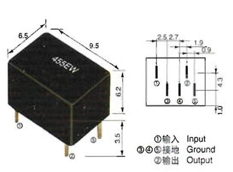 被公司crb系列低频陶瓷谐振器系列已批量生产