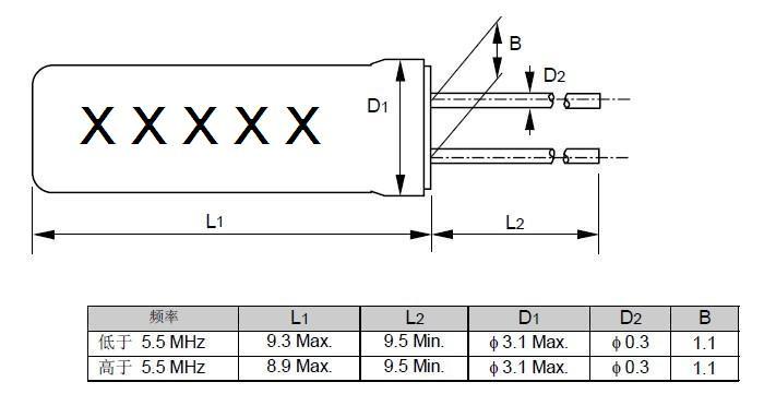 ca-301石英晶体谐振器,爱普生晶振代理商,圆柱晶振