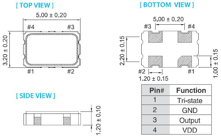 石英晶振,OV-5032有源晶振,泰艺晶体振荡器,有源石英晶振,无论是温补晶体也好,压控晶振也罢,产品均采用了,离子刻蚀调频技术,比目前一般使用的真空蒸镀方式调频,主要在产品参数有以下提升:1.微调后调整频率能控制在±2ppm,一般只能保持在±5ppm;2.产品的激励功率相关性参数有大幅提升;3.