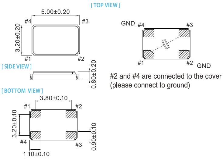 xv-5032无源晶振,泰艺晶体
