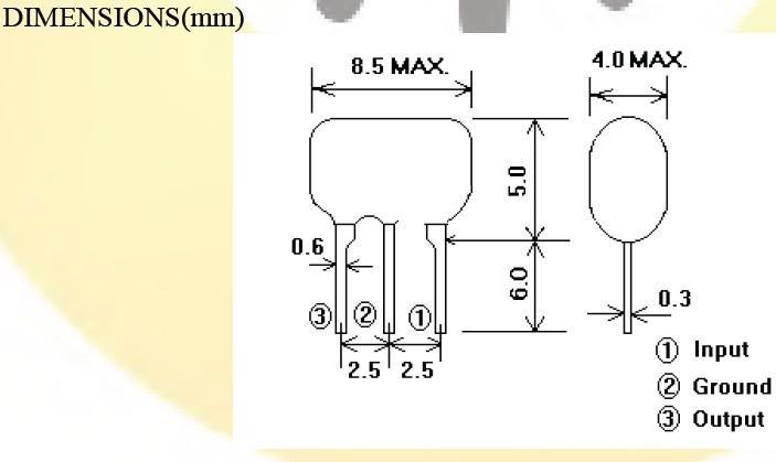 ztt陶瓷晶振,陶瓷谐振器